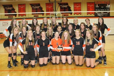 CHS Volleyball Team