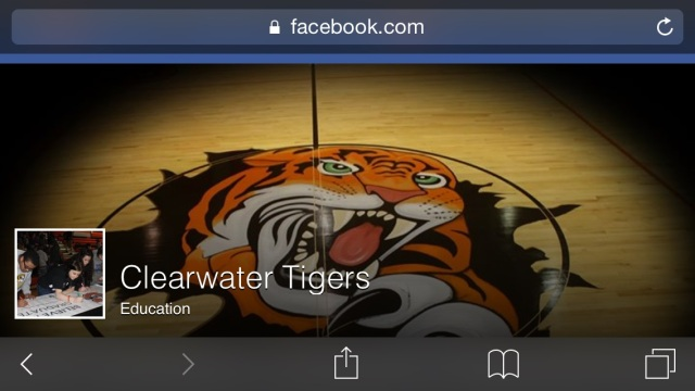 Clearwater Tigers Facebook