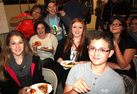 Attendance Pizza Party Sophomores