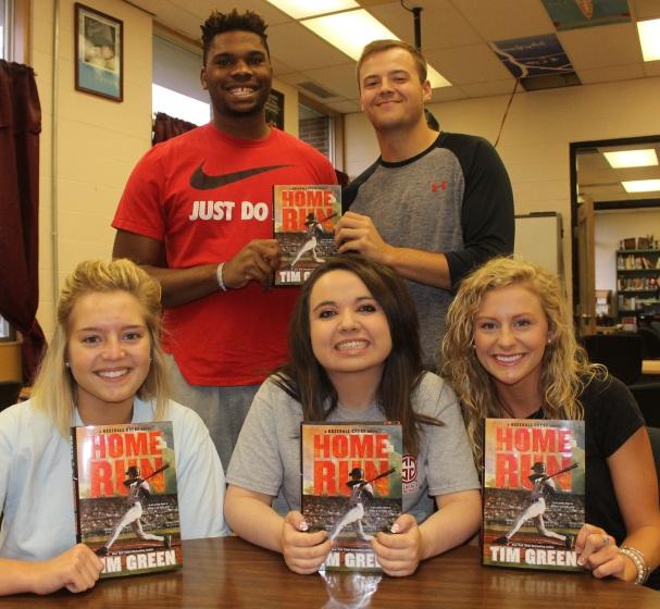 Author Tim Green Donated Books IMG_9545