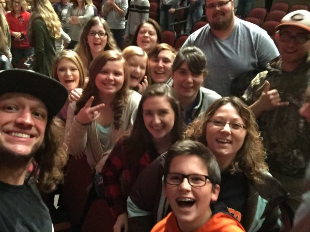 student-council-and-mike-smith