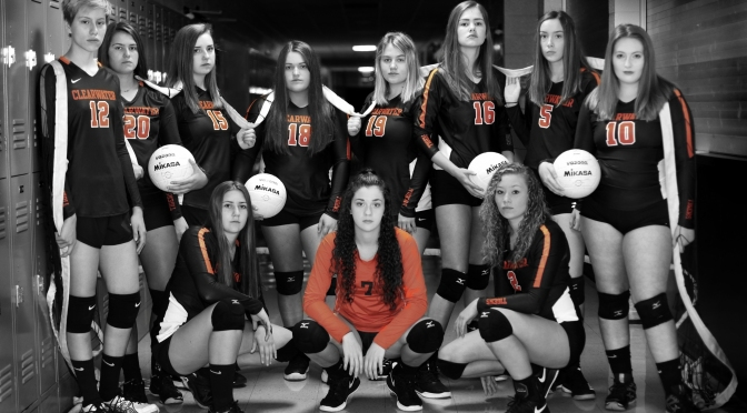 CHS VOLLEYBALL ATHLETES RECEIVE OFC AND BRL HONORS