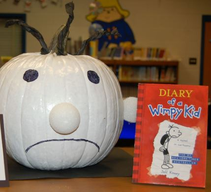 Diary of a Wimpy Kid Character Pumpkin
