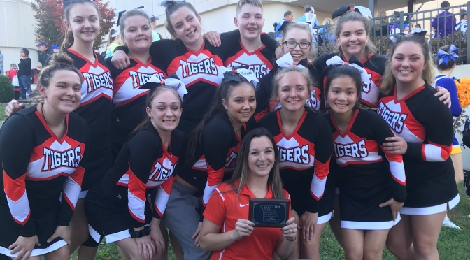 CHS CHEER TEAM WINS 4TH; ADVANCES TO STATE!