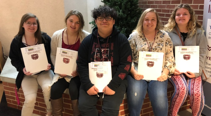CHS STUDENTS ATTEND RURAL MISSOURI EDUCATION CONFERENCE