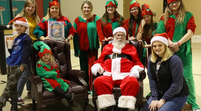 CHRISTMAS WITH SANTA IS COMING MONDAY, DECEMBER 16!