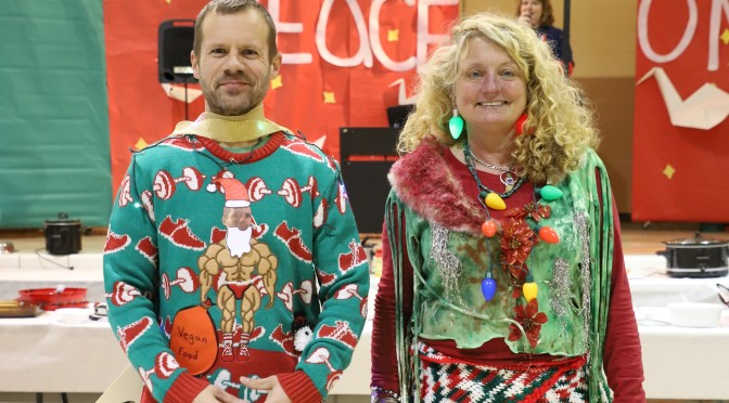 WEAR AN UGLY CHRISTMAS SWEATER TO MONDAY'S GAME; 1ST 50 CHS STUDENTS GET FREE ADMISSION