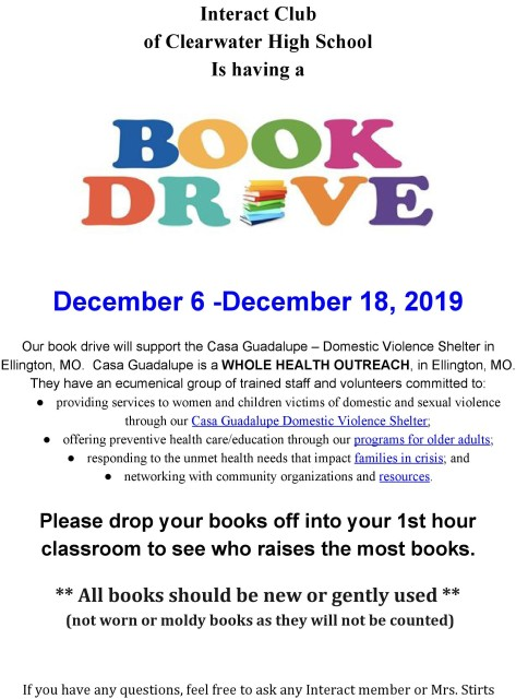 Interact Book Drive