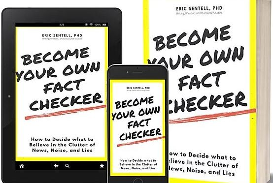 FREE EBOOK: BECOME YOUR OWN FACT-CHECKER