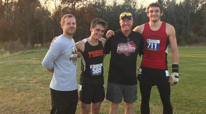 CONGRATS TO JACOB CHENEY,  FIRST CHS XC STATE COMPETITOR