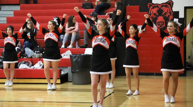 CHEER TRYOUTS TO BE HELD AFTER SCHOOL ON TUESDAY, MAY 18
