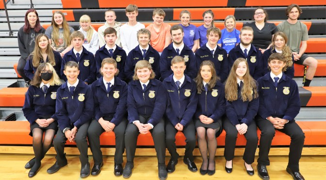 RSVP FOR FFA BANQUET ON MAY 6