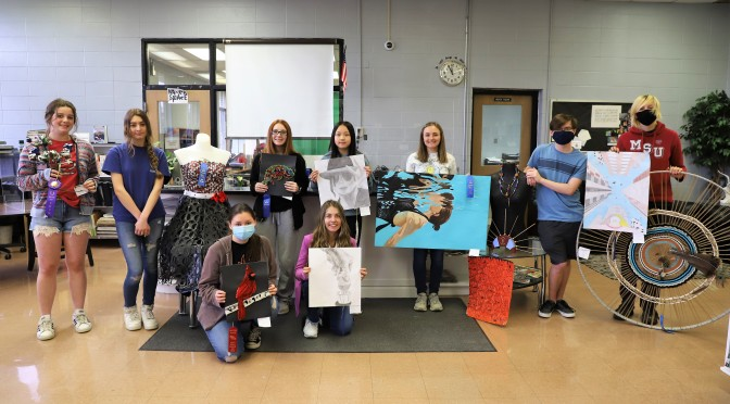 BRL ART SHOW WINNERS