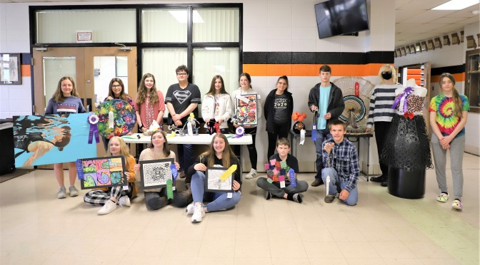CLEARWATER STUDENTS DISPLAY TALENT AT MAC ART SHOW